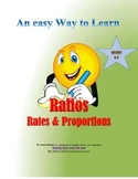 RATIOS, RATES & PROPORTIONS