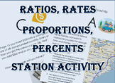 Ratios Rates Proportions Percent Real Life Application Station Activity