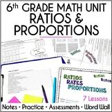 Ratios, Rates, Proportions Unit for 6th Grade