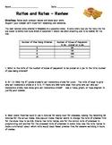 Ratios Rates Review - Tape Diagrams
