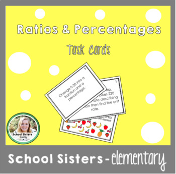 Ratios, Rates, Unit Rates, Percentages, Decimals, Fraction