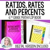 Ratios, Rates and Percents Mini Tabbed Flip Book for 6th G