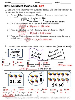 Ratios, Rates, and Proportions Galore by Barry Schneiderman | TpT