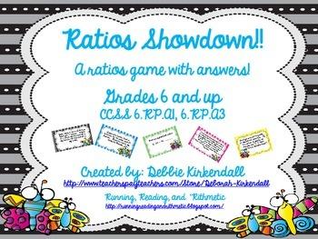 Ratios Showdown Game