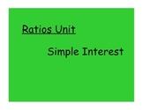 Ratios: Simple Interest Lesson Video