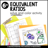 Equivalent Ratios: Solve and Color