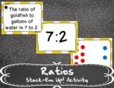 Ratios Stack-Em Up! Activity