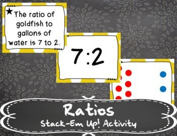 Ratios Stack-Em Up! Activity