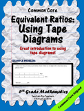 Equivalent Ratios: Tape Diagrams
