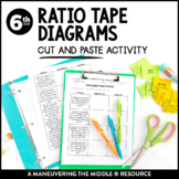 Ratio Tape Diagrams: Cut and Paste
