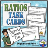 Ratios Task Cards TEST PREP