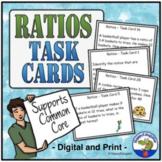 Ratios Task Cards Math TEST PREP