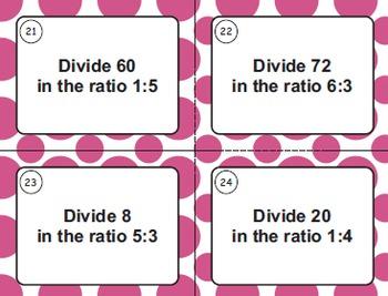 Ratios Task Cards