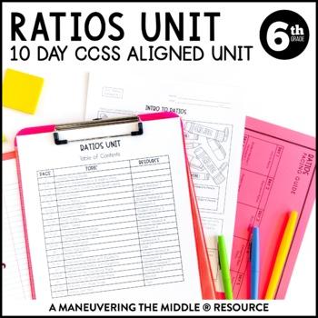 Common core resources lesson plans ccss 6rpa3b rp3 6th grade ratios unit 6rp1 6rp3 fandeluxe Image collections