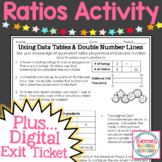 Ratios and Data Tables Activity