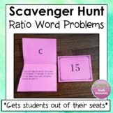 Ratio Word Problems Scavenger Hunt