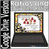Ratios and Equivalent Ratio Task Cards | Digital Version |