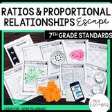 7th Grade Ratios and Proportional Reasoning Escape Room Activity