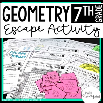 7th Grade Geometry Escape Room Activity