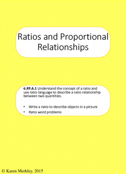 Ratios and Proportional Relationships