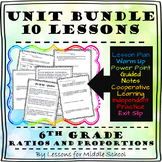 Ratios and Proportional Relationships - 6th Grade - Unit Bundle