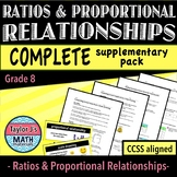 Ratios and Proportional Relationships - Complete Supplemen