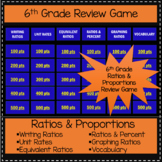 6th Grade Ratios and Proportional Relationships - Game Sho