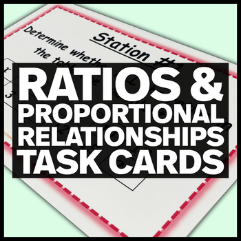 Ratios and Proportional Relationships - Middle School Math