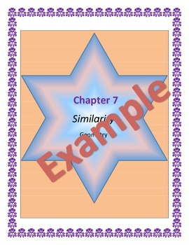 Geometry Similarity, Guided Notes, Powerpoint, Homework Included