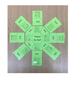 Find the Star-Coordinate Grid Game