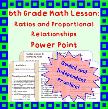 Ratios and Proportions: A Power Point Lesson