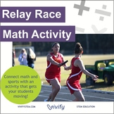Relay Race Math: Ratios & Proportions with STEM Career Connection