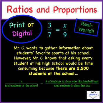 Ratios and Proportions Are a Rockin!