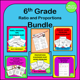 Ratios and Proportions Bundle 6th Grade