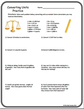 Ratios and Proportions Bundle 6th Grade