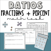 Ratios and Proportions: Comparing Fractions, Ratios and Percent