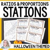 Ratios and Proportions : Editable Middle School Math Stations