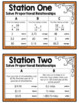 Ratios and Proportions - Editable Halloween Stations