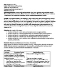 Ratios and Proportions Lesson Plan and Worksheets