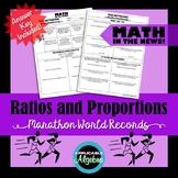 Ratios and Proportions - Marathon World Records - Math in the News!
