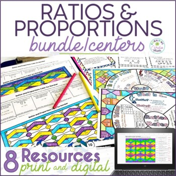 Ratios and Proportions Math Center Resources