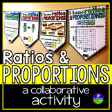 Ratios and Proportions Math Pennant Activity