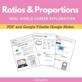 Ratios and Proportions - Real World Career Connection Activity