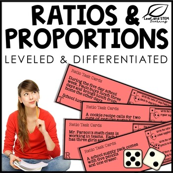 Ratios and Proportions Task Cards