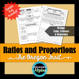 Ratios and Proportions - The Oregon Trail - Math in the News!