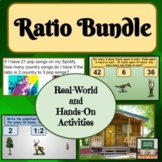 Ratio Word Problems - Unit Rate - Activities - Projects - Bundle