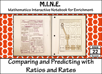Ratios and Rates {Comparing and Predicting}