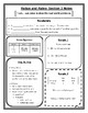 Ratios and Rates Notes