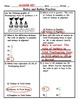 Ratios and Rates Word Problem Practice PLUS Spiral Review