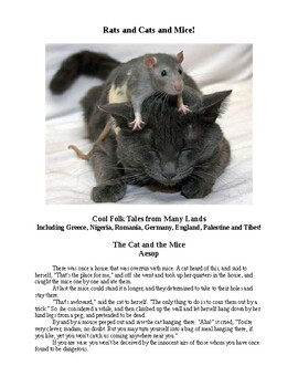 Rats and Cats and Mice! Folk Tales Around the World!